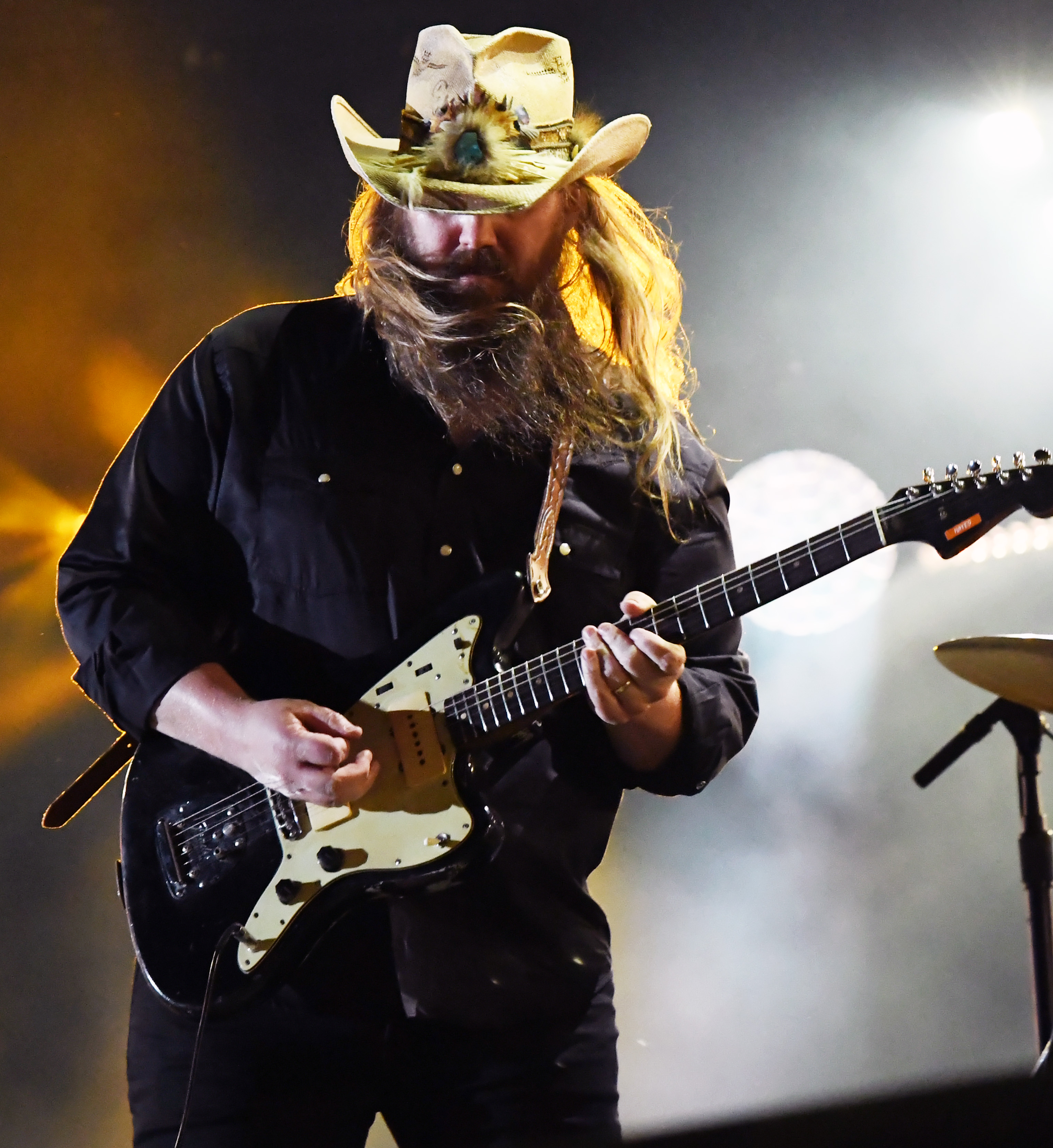 See Chris Stapleton?s Moving Tribute to Aretha Franklin