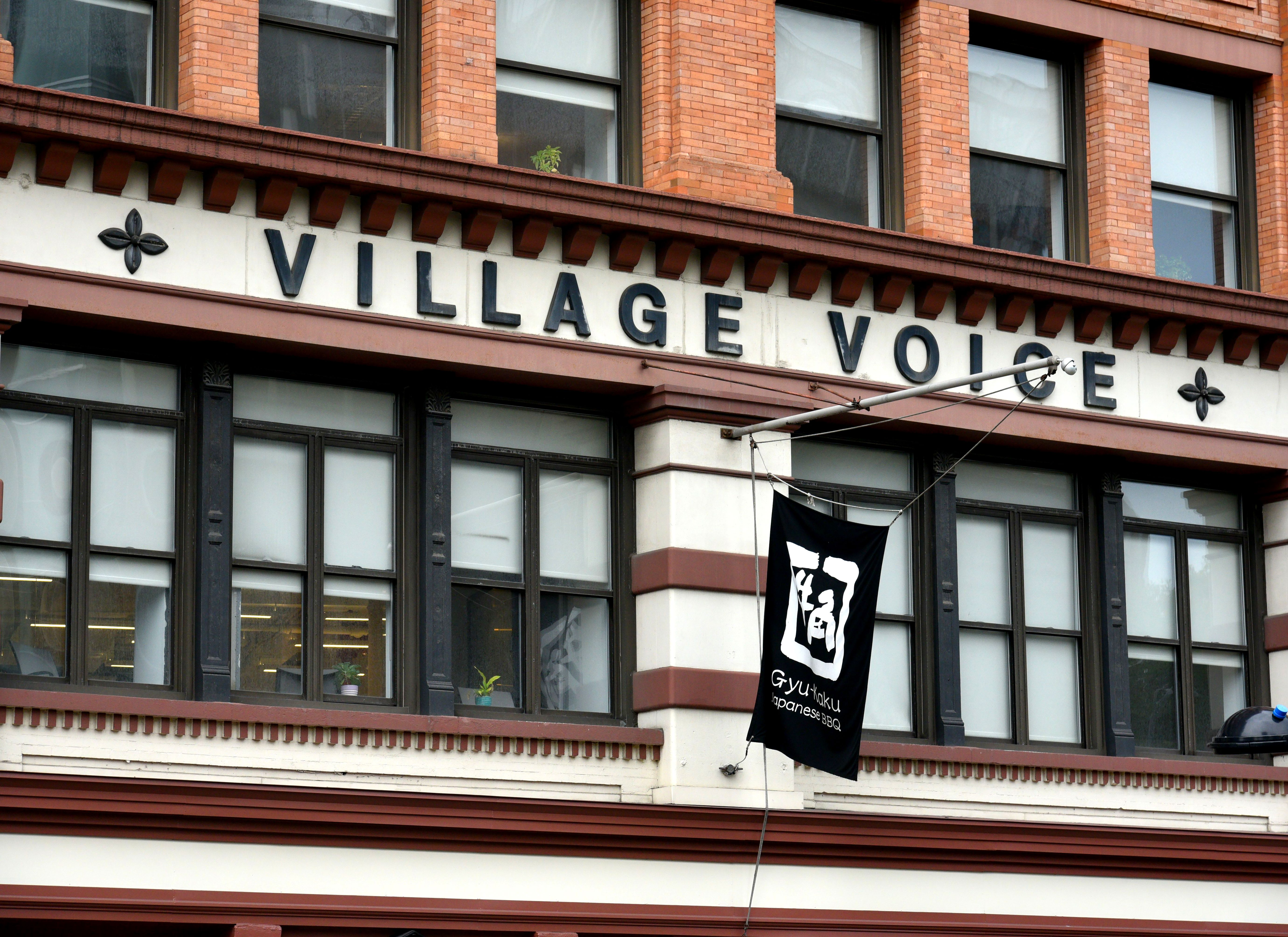 The Village Voice located at 36 Cooper Square in New York.The Village Voice ceases operations, New York, USA - 31 Aug 2018The Village Voice, which was founded in 1955 and left an indelible mark on New York's cultural and political landscape for decades, has finally faced up to its daunting business reality and opted to cease editorial operations.