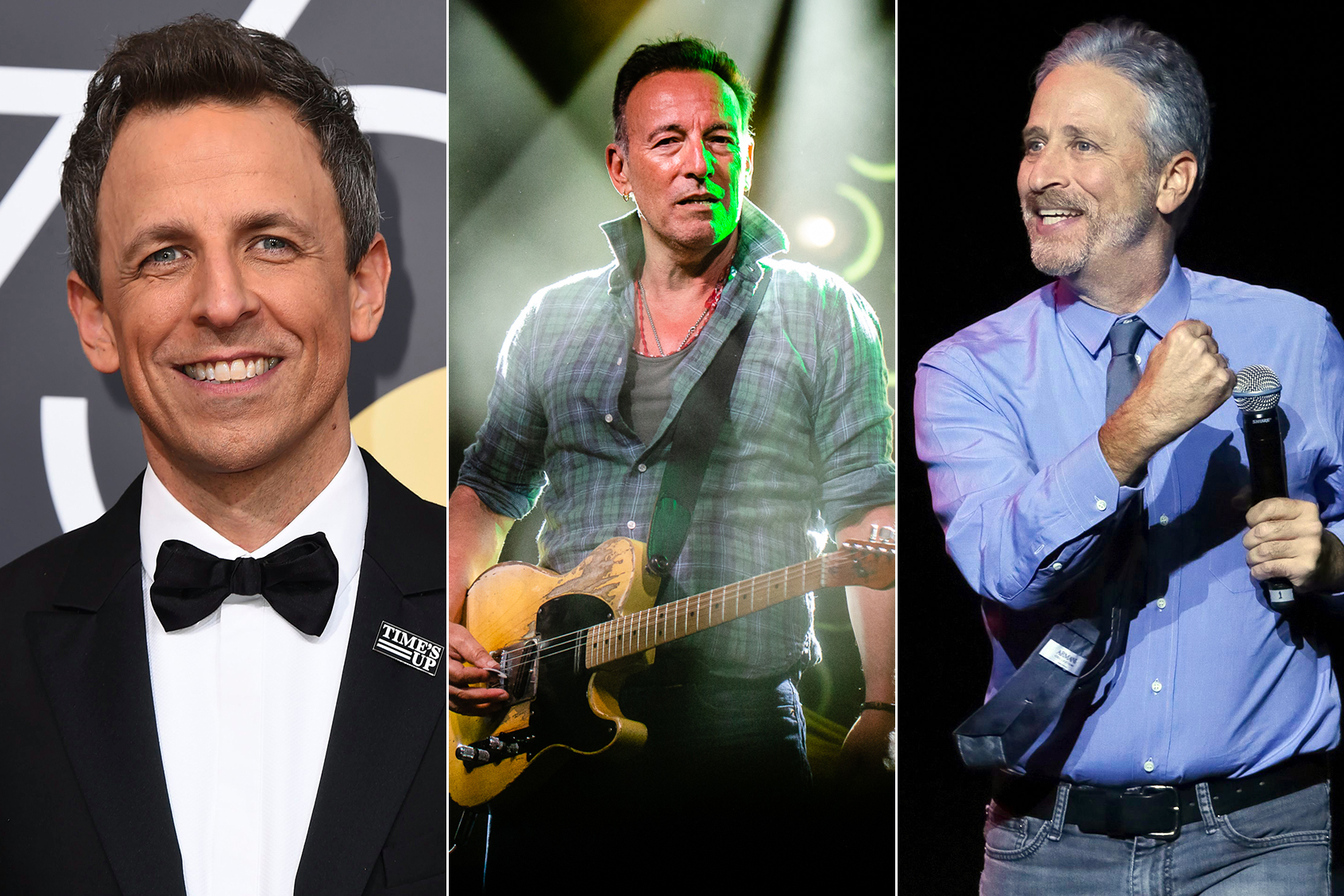 Bruce Springsteen Jon Stewart Lead 2018 Stand Up For