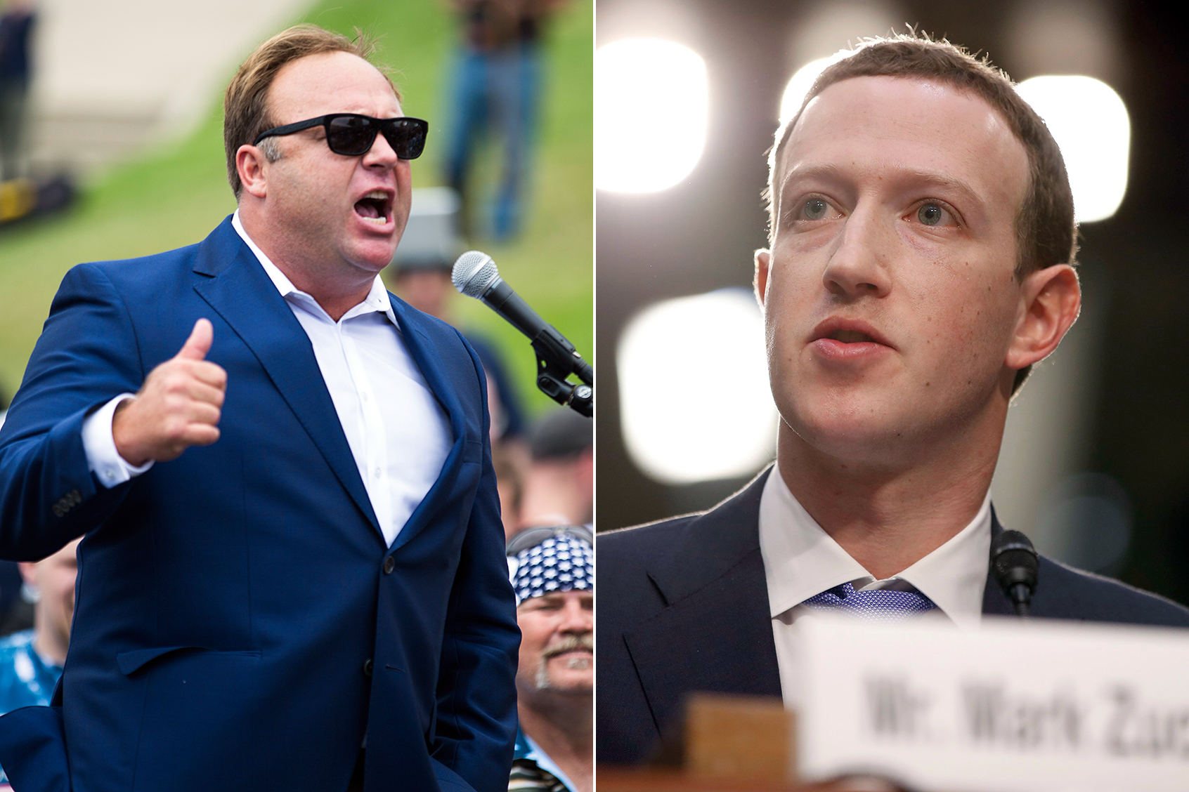 infowars facebook alex jones mark zuckerberg
