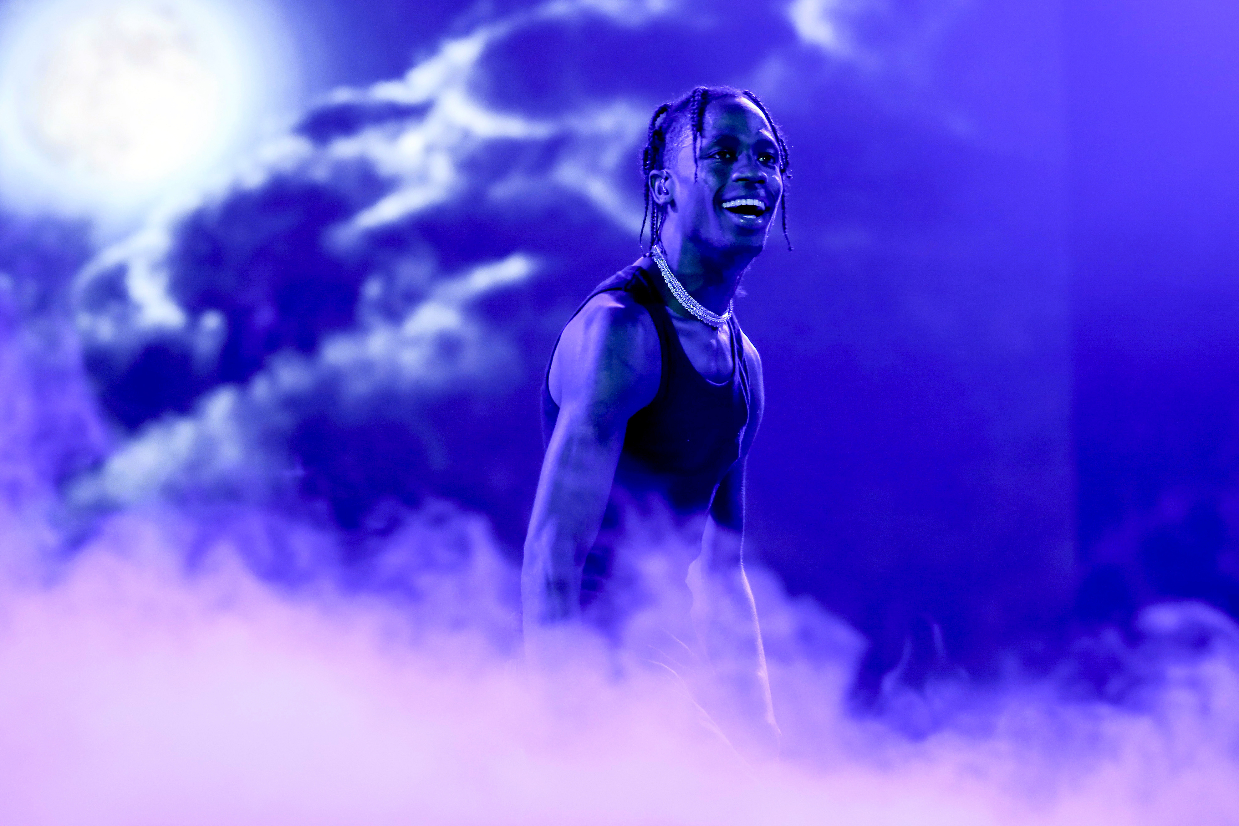 4882939f8b51 Travis ScottSuperBock SuperRock Festival in Lisbon, Lisboa, Portugal - 20  Jul 2018US rapper Travis