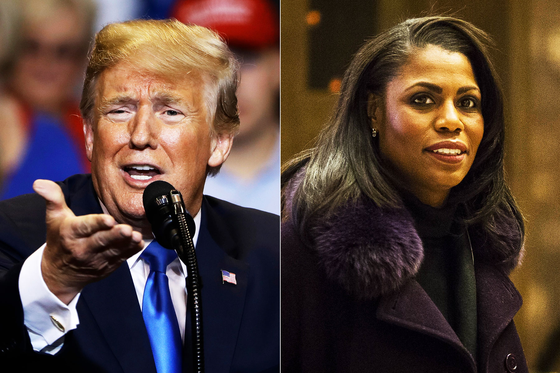 Trump Is Melting Down Over Omarosa's Racial Allegations