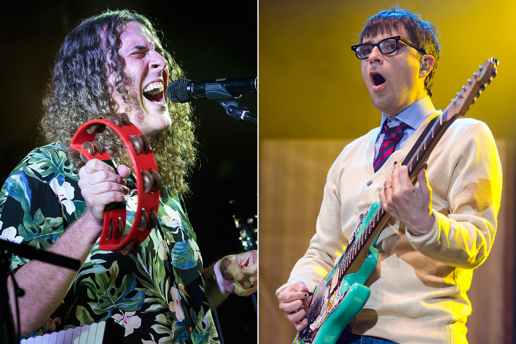 See Weird Al Shred Accordion With Weezer on 'Africa' Cover