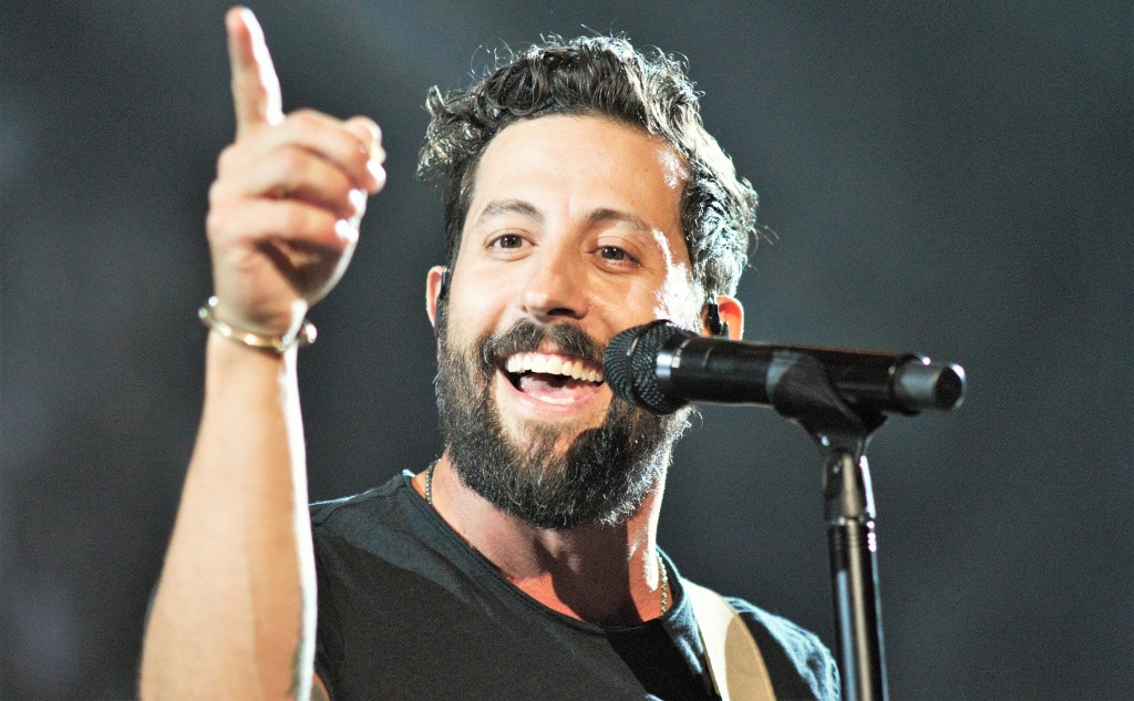 Old Dominion's Matthew Ramsey led the ACM Award-winning band through an energetic set on Nashville's most famous stage.