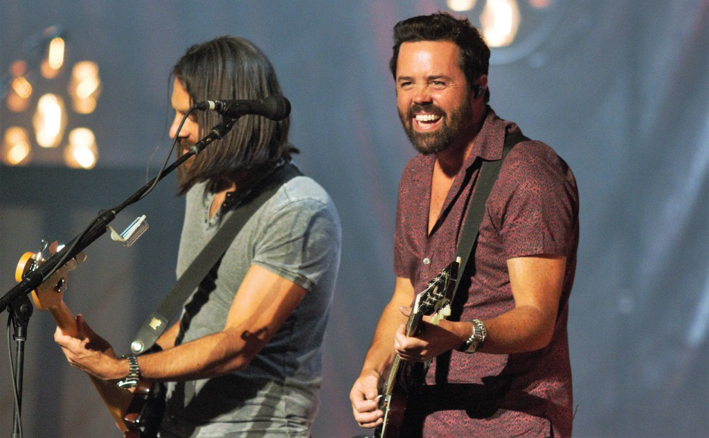 """Old Dominion's Geoff Sprung and Brad Tursi guided the band through hits like """"Break Up With Him"""" and """"No Such Thing As a Broken Heart."""""""