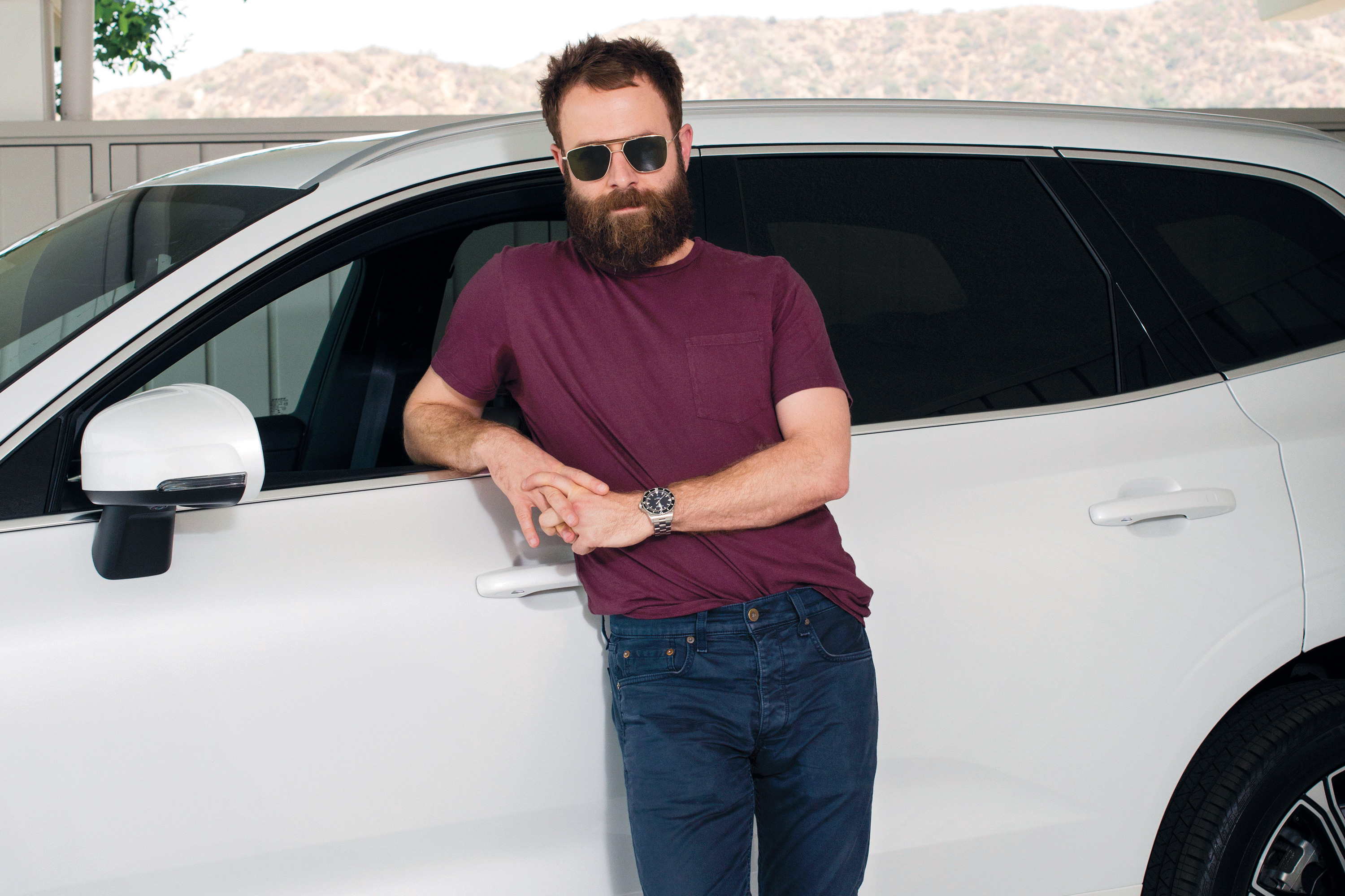Taylor Goldsmith Of Dawes With A 2019 Volvo Xc60 T8
