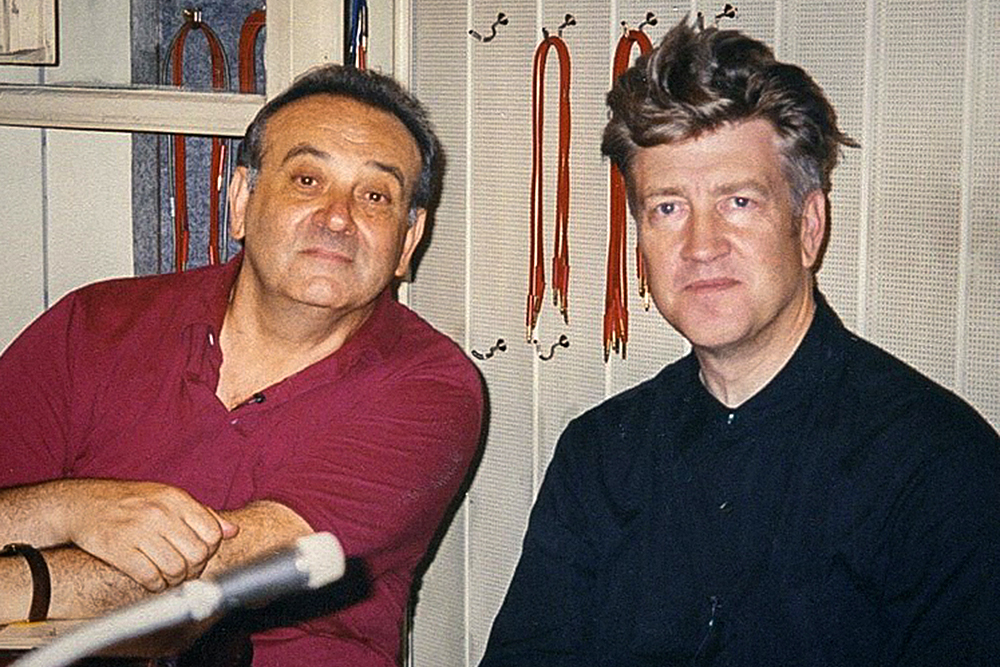 David Lynch and Angelo Badalamenti