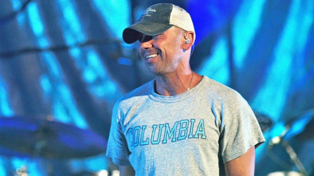 """Kenny Chesney brought a roar from the sold-out crowd, when he appeared to perform """"Save It for a Rainy Day."""""""