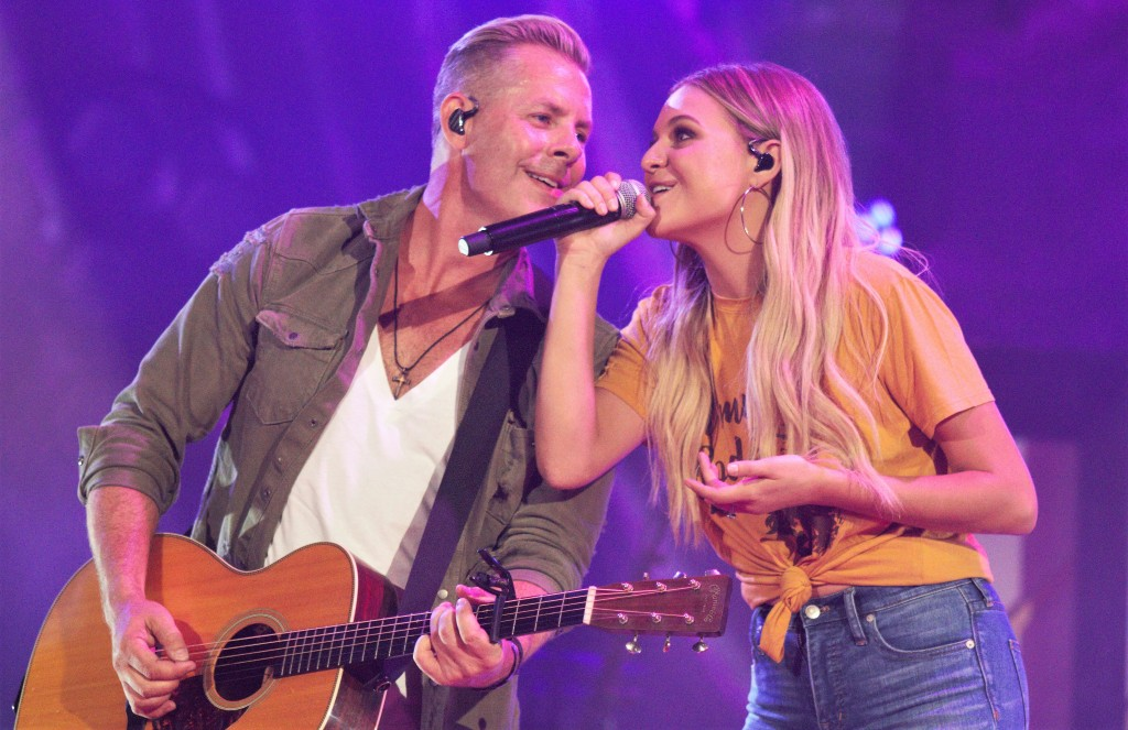 """Kelsea Ballerini was one of the night's guests, performing her """"I Hate Love Songs"""" with help from Old Dominion's Trevor Rosen, who co-wrote the hit."""