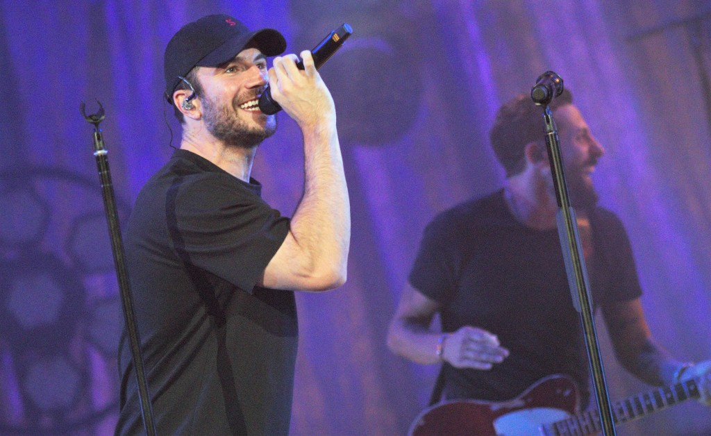 """Sam Hunt performed two songs he co-wrote with O.D.'s Matthew Ramsey, """"Ex to See"""" and """"Make You Miss Me."""""""