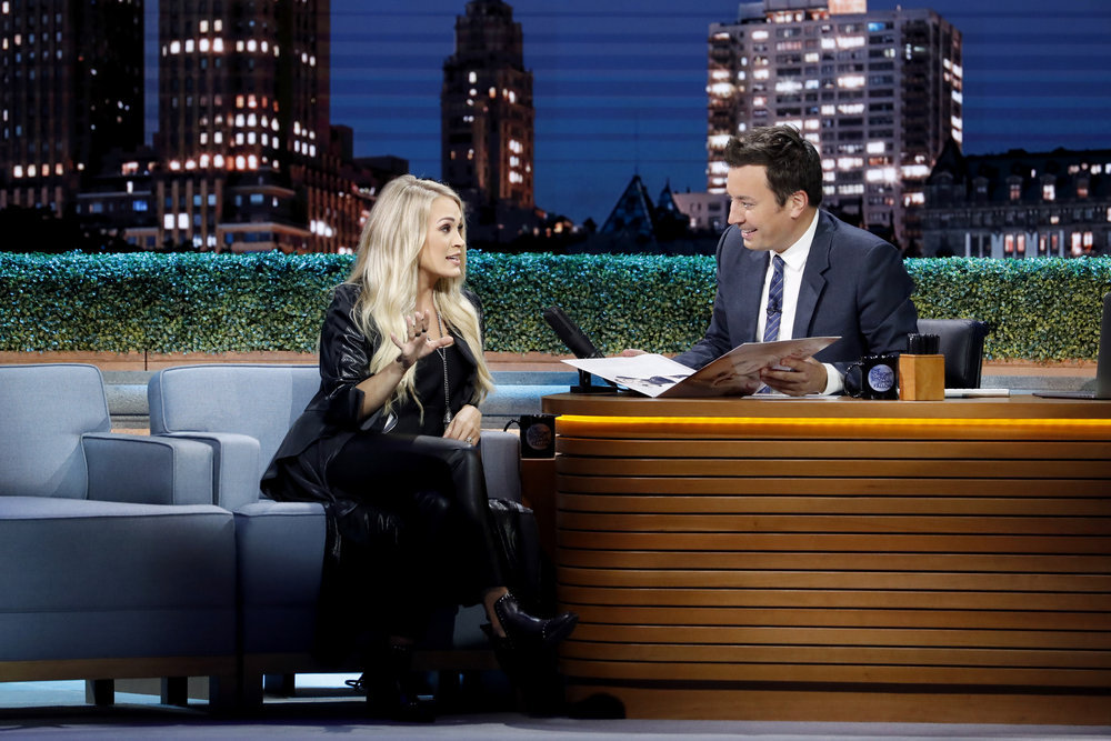 See Carrie Underwood, Jimmy Fallon's 'Islands in the Stream