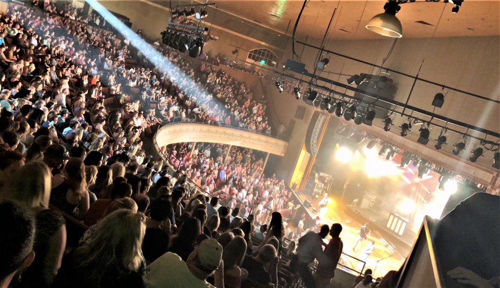 Old Dominion's guest-heavy gig attracted fans from far and wide, selling out Nashville's history Ryman Auditorium.