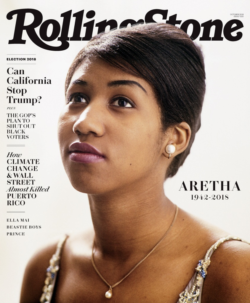 aretha franklin rolling stone cover