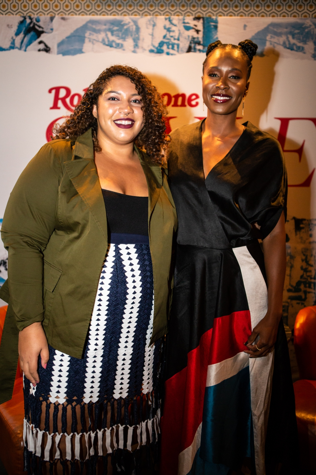 Actress Sydelle Noel (right) from 'GLOW' TV series with Rolling Stone's Brittany Spanos.