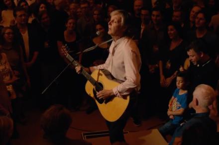 Paul McCartney's Surprise Grand Central Concert: Review
