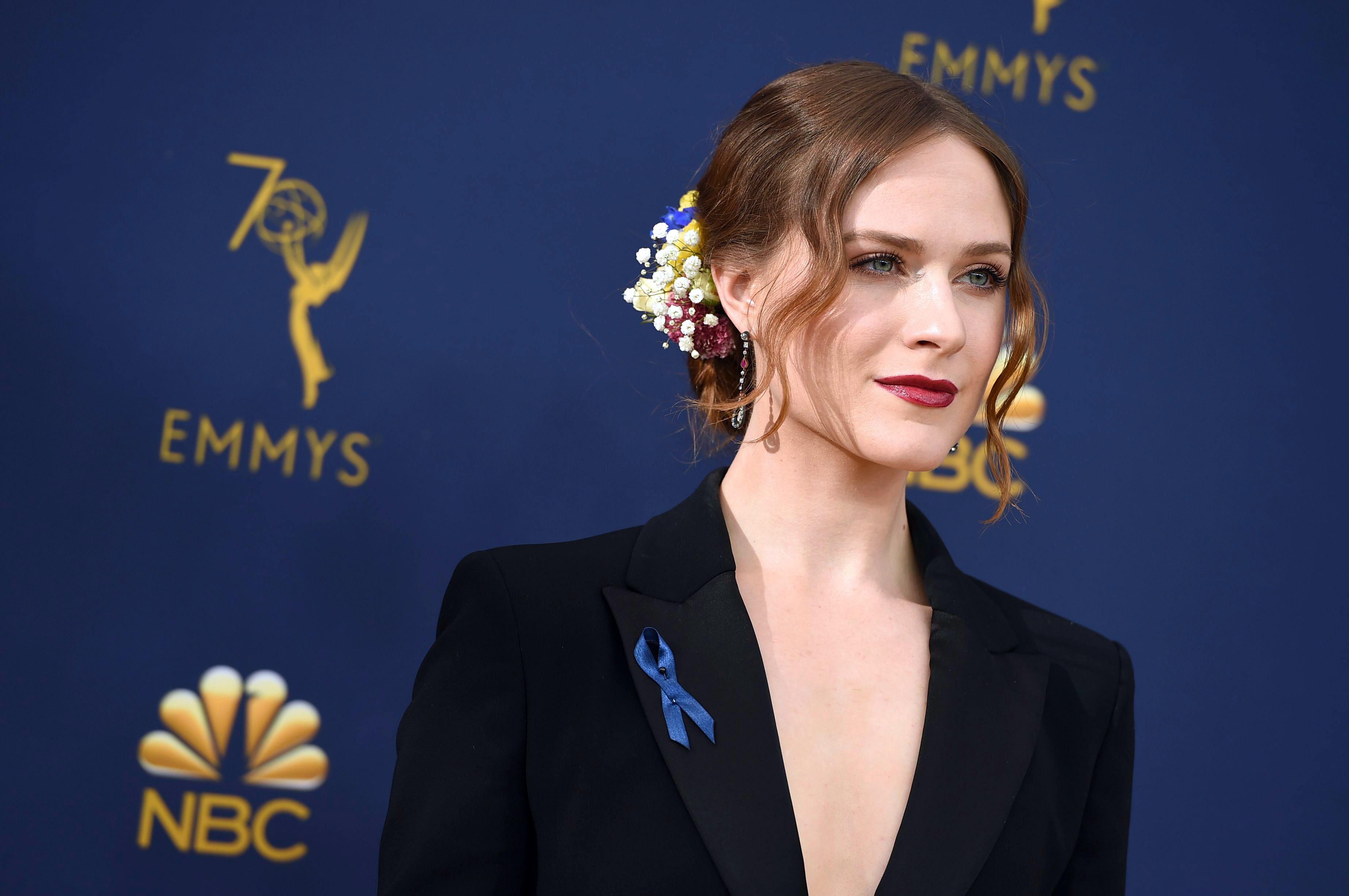 Evan Rachel Wood2018 Primetime Emmy Awards - Arrivals, Los Angeles, USA - 17 Sep 2018