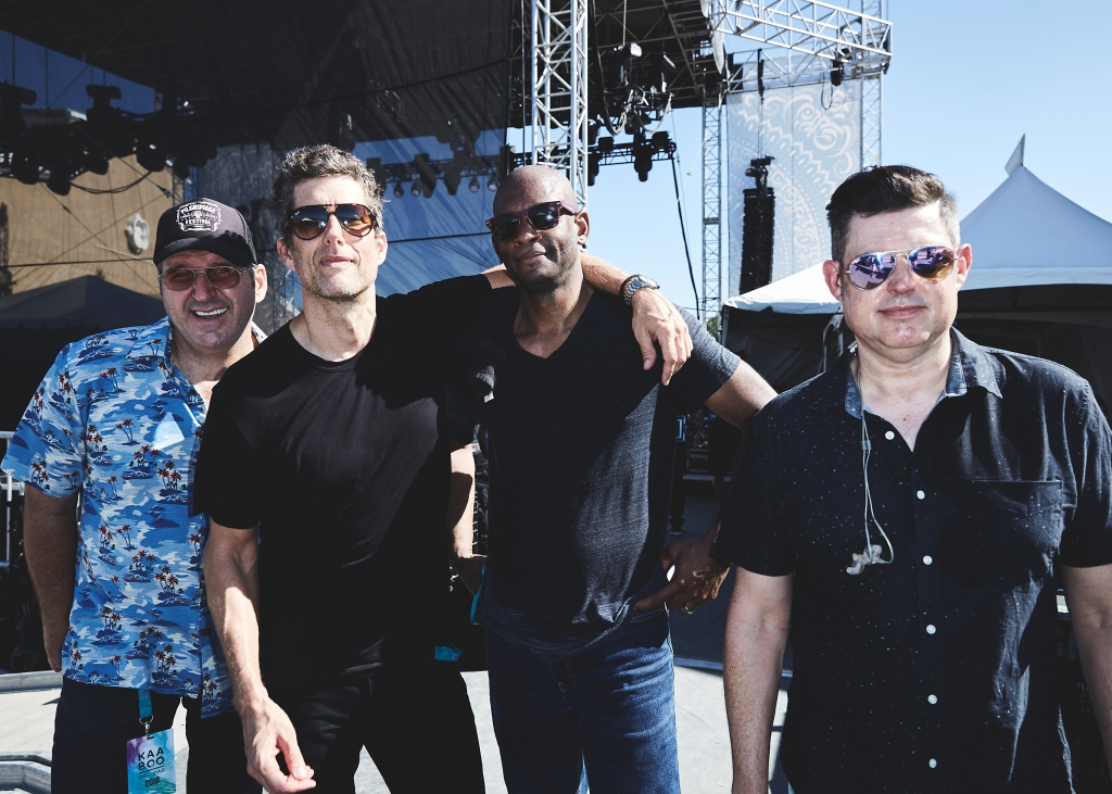 Better Than Ezra backstage at the 2018 Kaaboo Del Mar Festival