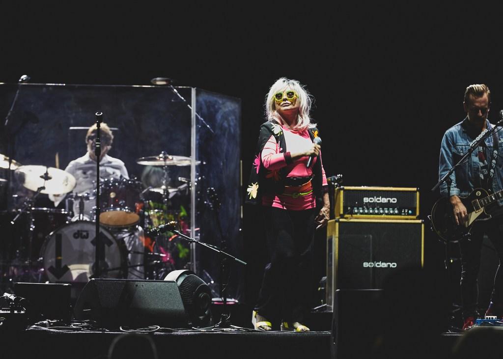 Debbie Harry of Blondie performs at the 2018 Kaaboo Del Mar Festival
