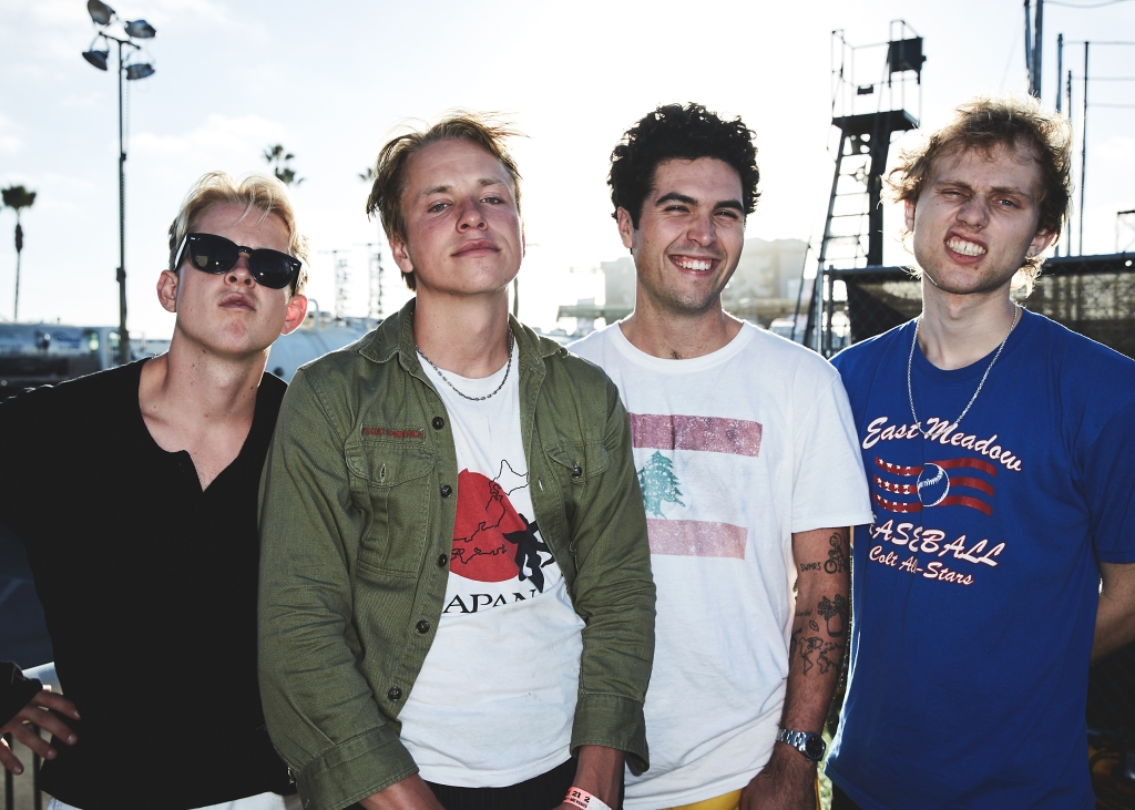 SWMRS backstage at the 2018 Kaaboo Del Mar Festival at Del Mar Fairgrounds on September 14-16, 2018 in Del Mar, California.
