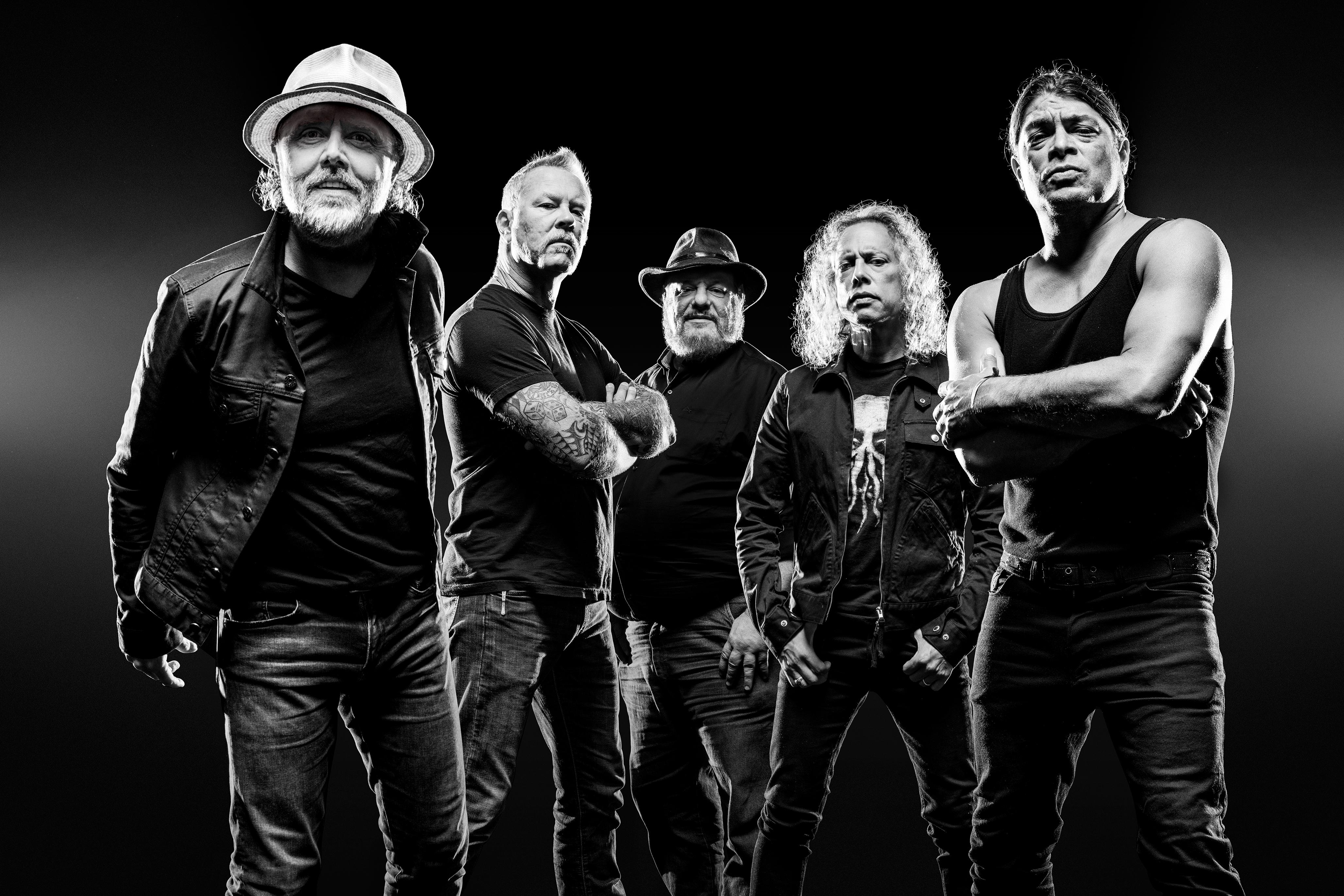 Metallica with Dave Pickerell whiskey