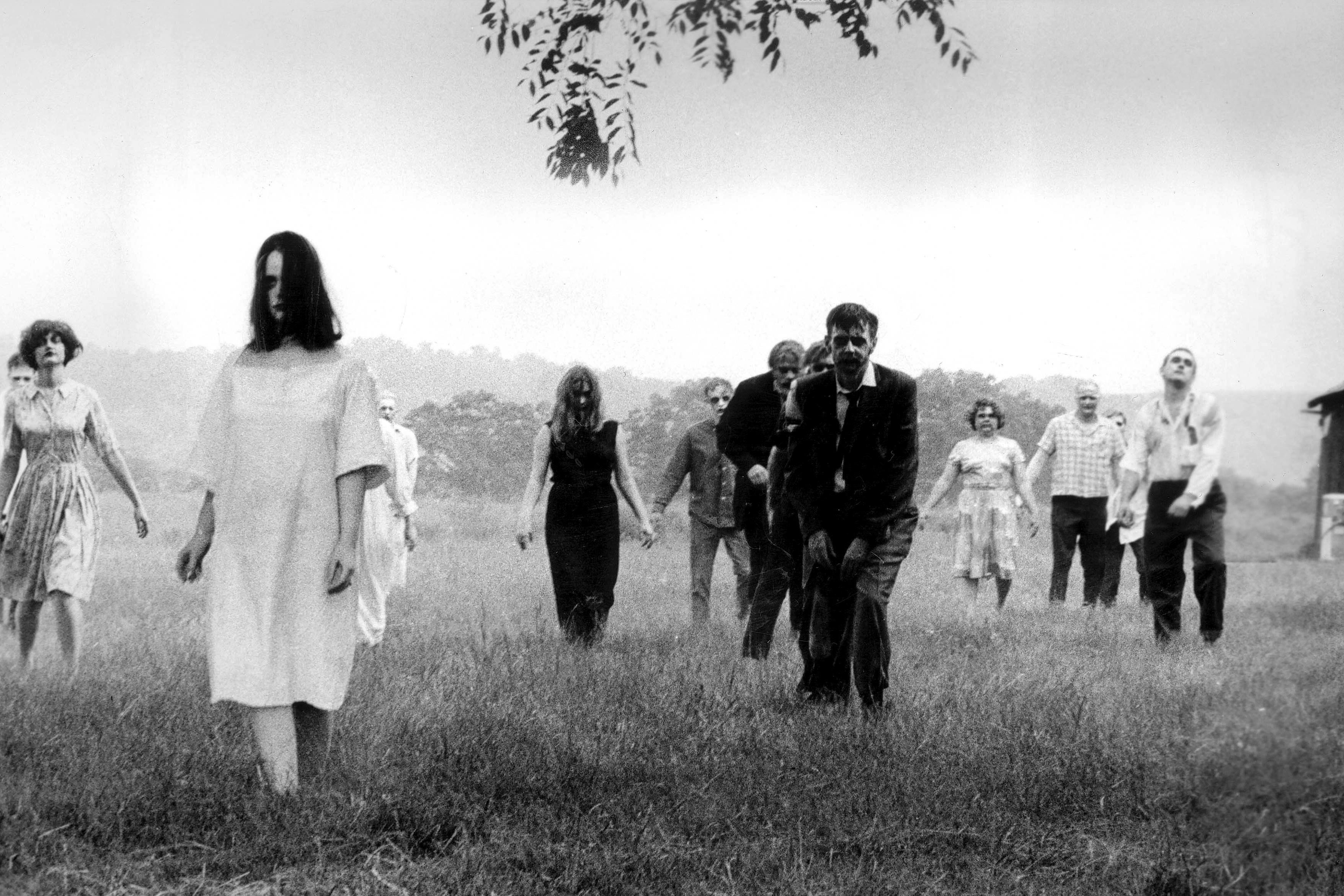 Editorial use only. No book cover usage.Mandatory Credit: Photo by Image Ten/Kobal/REX/Shutterstock (5881773o)Night Of The Living Dead (1968)Night Of The Living Dead - 1968Director: George A. RomeroImage TenUSAScene StillLa Nuit des morts-vivants (1968)