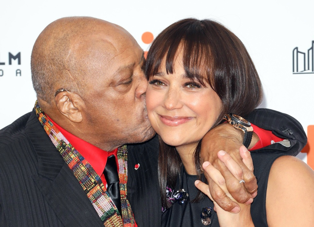 Quincy Jones and Rashida Jones'Quincy' premiere, Arrivals, Toronto International Film Festival, Canada - 09 Sep 2018