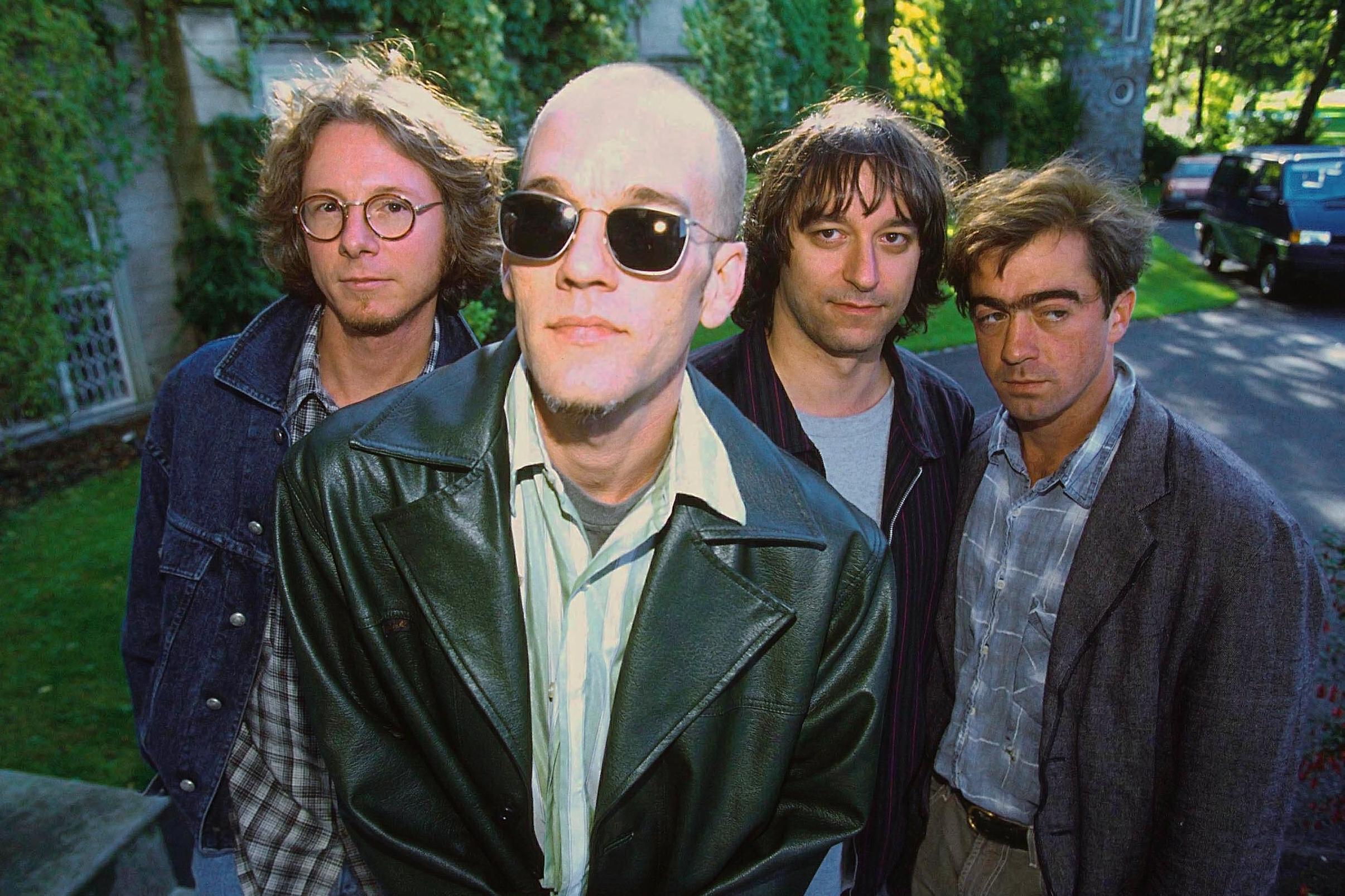 R.E.M. in Ireland in 1994.