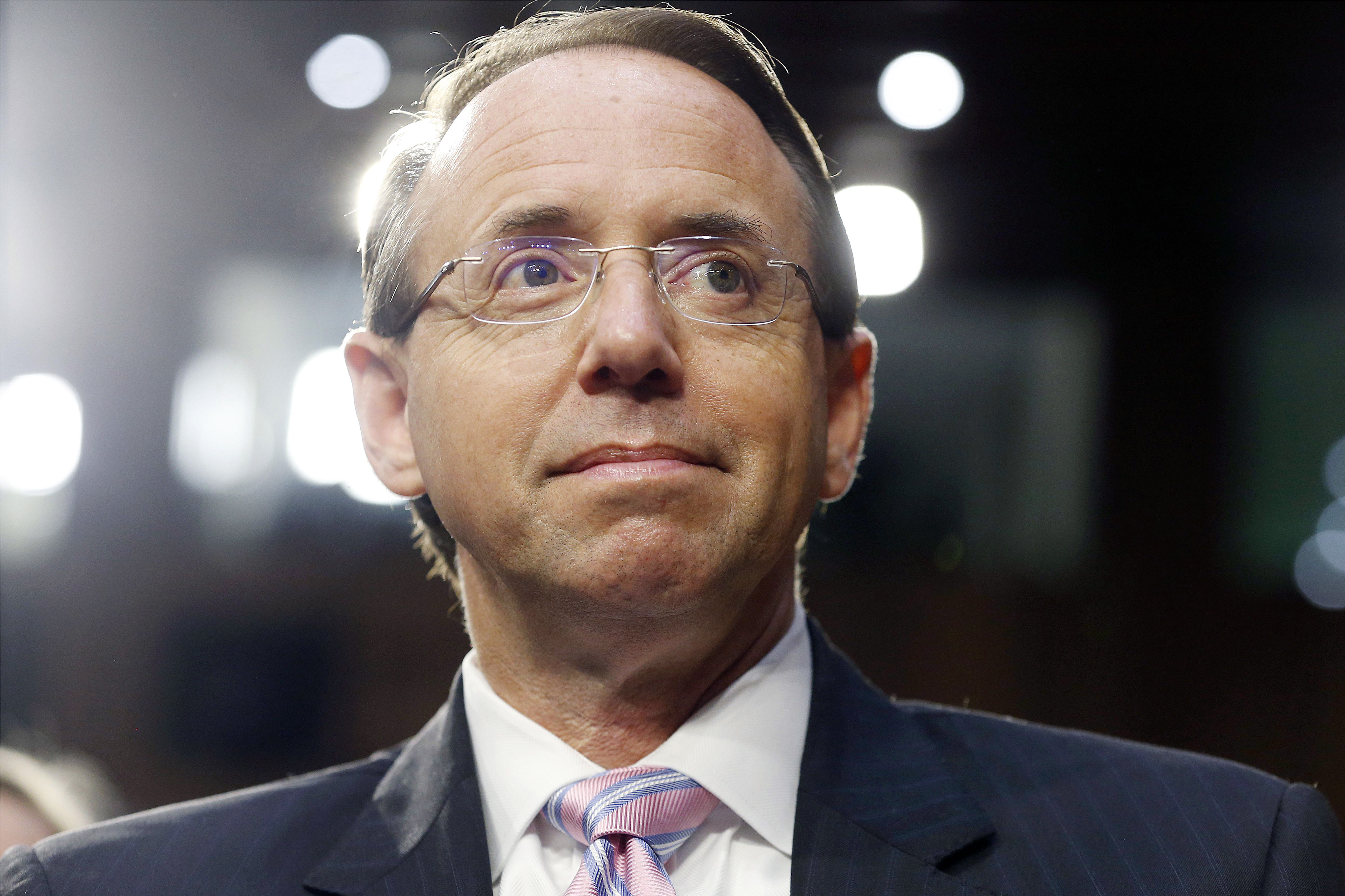 Rod Rosenstein's Impeachment Threat Grows by the Minute
