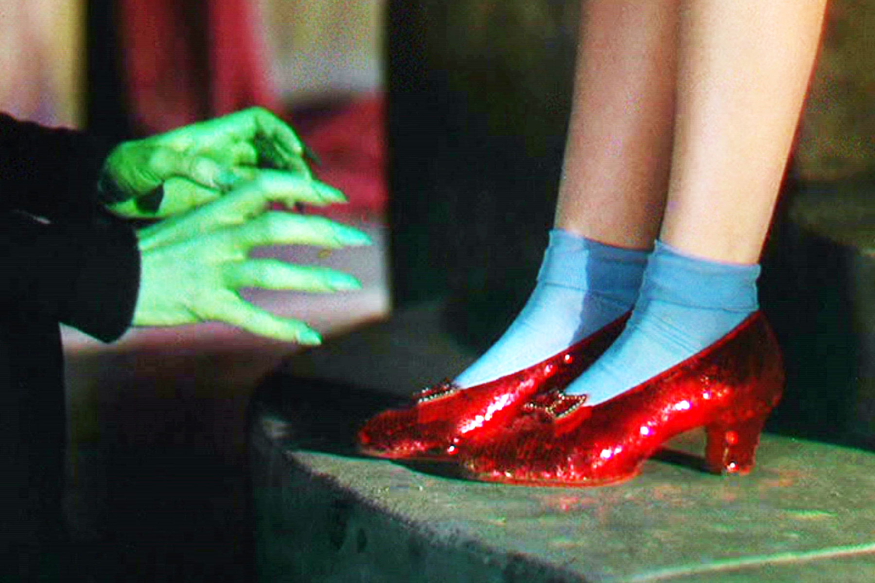 046da22cdf0 A pair of stolen iconic ruby slippers Judy Garland wore in  The Wizard of  Oz  has been recovered.