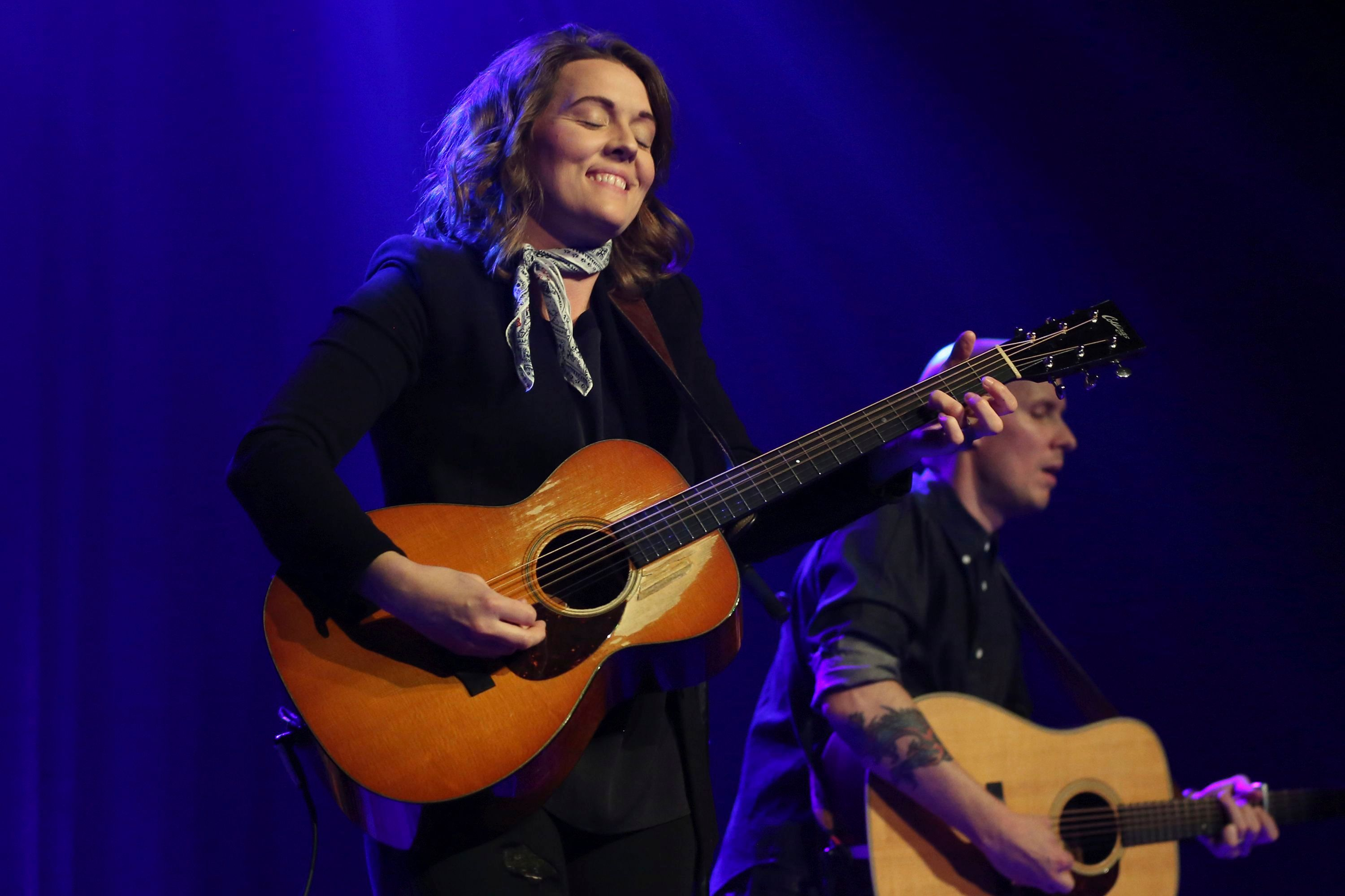 """Artist Brandi Carlile performs in concert on her """"The Story Tour: An Acoustic Evening with Brandi Carlile"""" at the Ryman Auditorium on in Nashville, TennBrandi Carlile in Concert - , TN, Nashville, USA - 24 Apr 2017"""