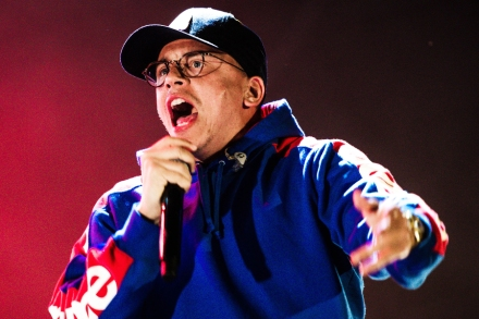 Logic Channels 'The Dark Knight' in His Video for 'Everybody