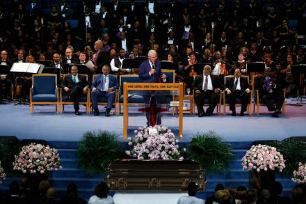 Aretha Franklin's Funeral: Views From Inside the Church – Rolling Stone