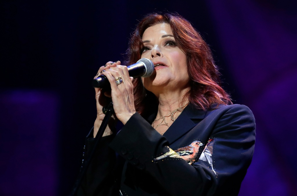 Rosanne Cash performs during the Americana Honors and Awards show, in Nashville, TennMusic Americana Awards, Nashville, USA - 12 Sep 2018