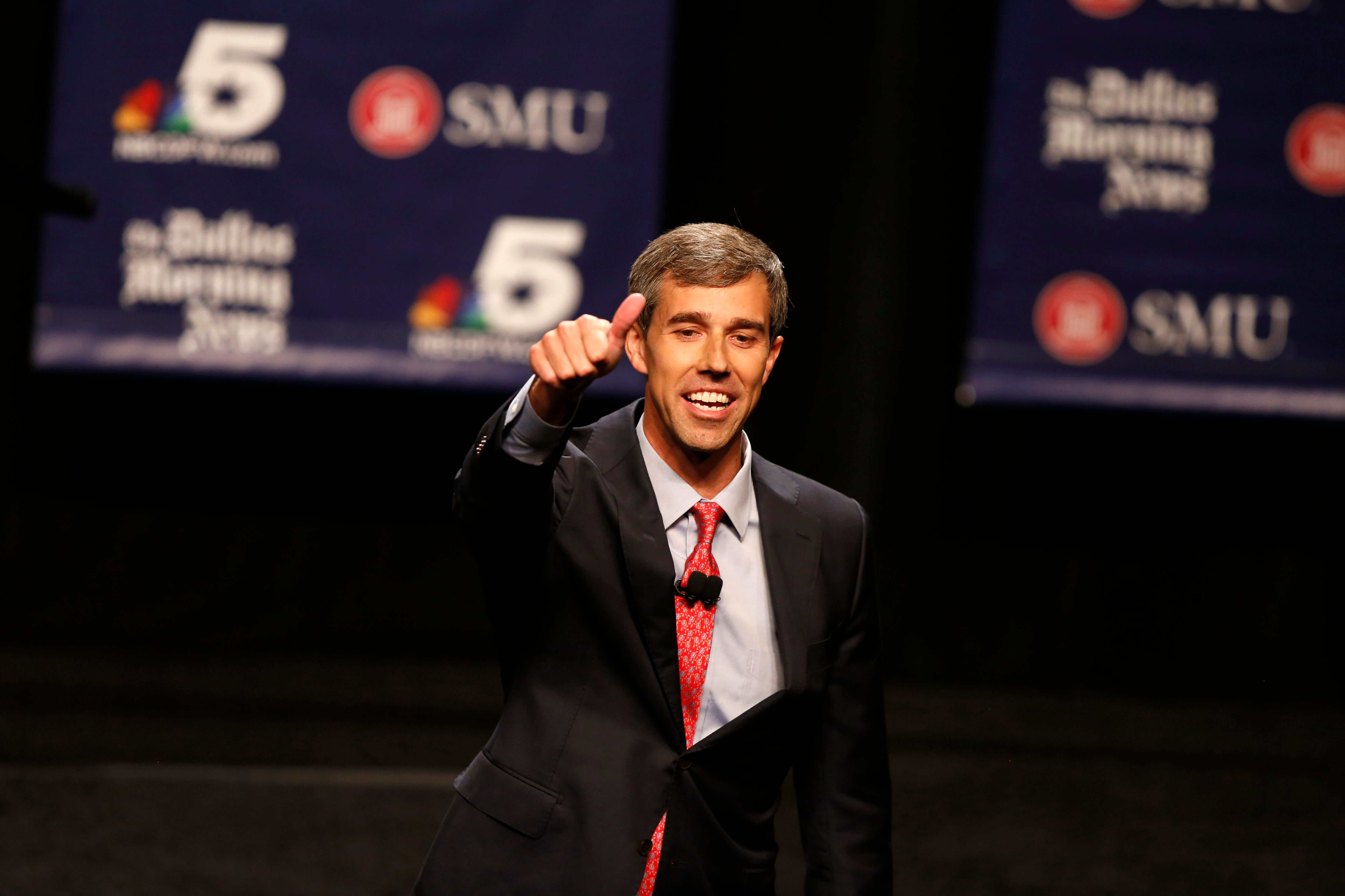 See Beto O'Rourke Air-Drum to the Who's 'Baba O'Riley' After Ted Cruz Debate