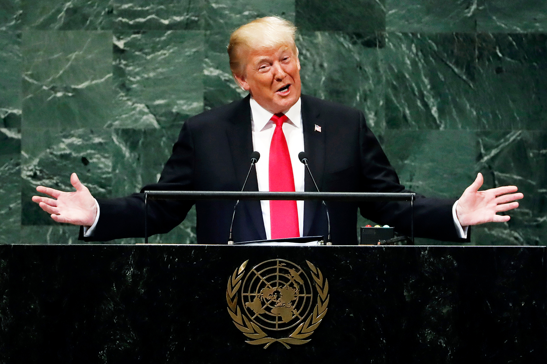 President Trump Is Literally the Laughingstock of the World