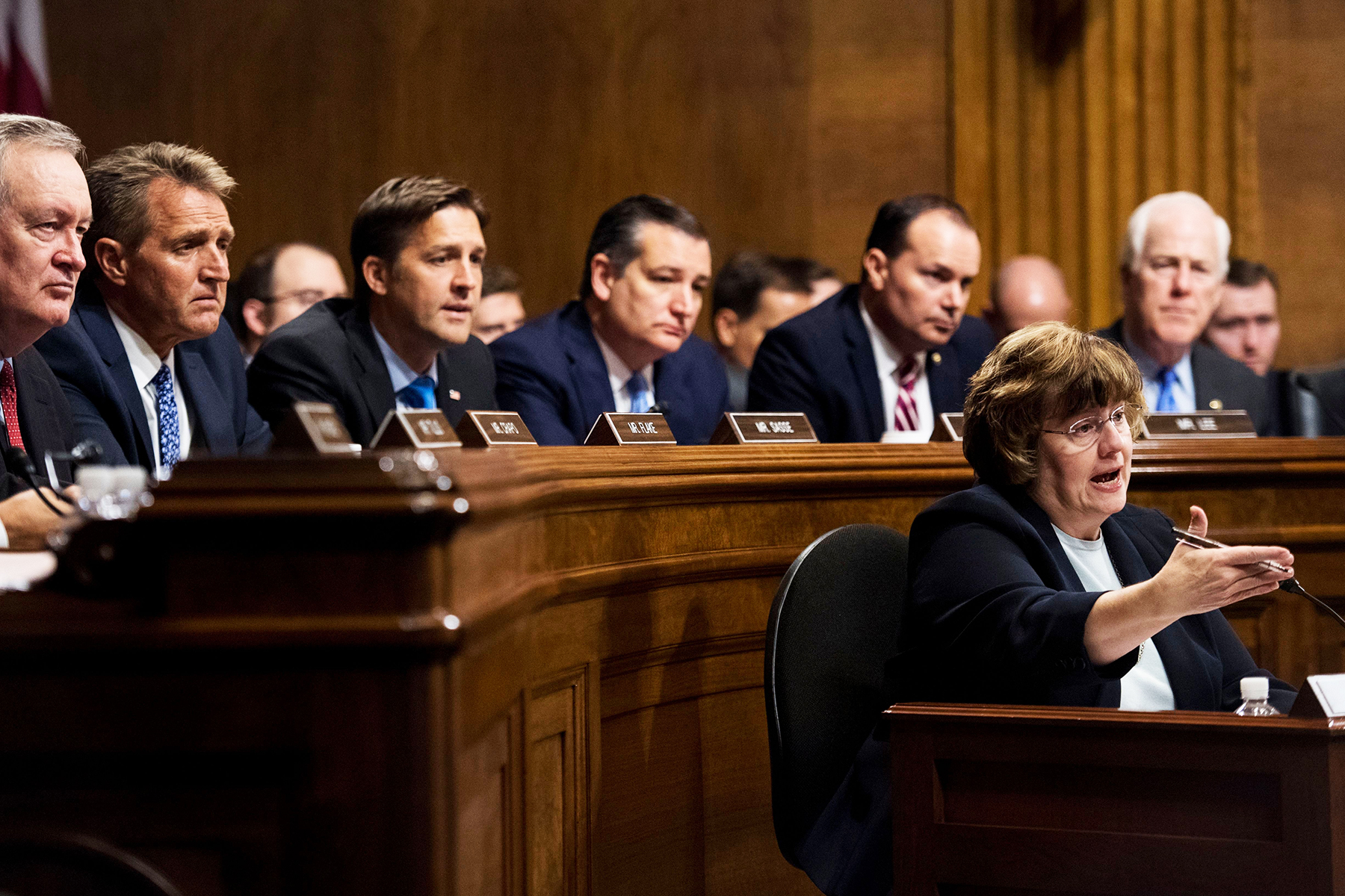 Republicans Questioning Ford >> Republicans Regretting Enlisting Rachel Mitchell To Interview