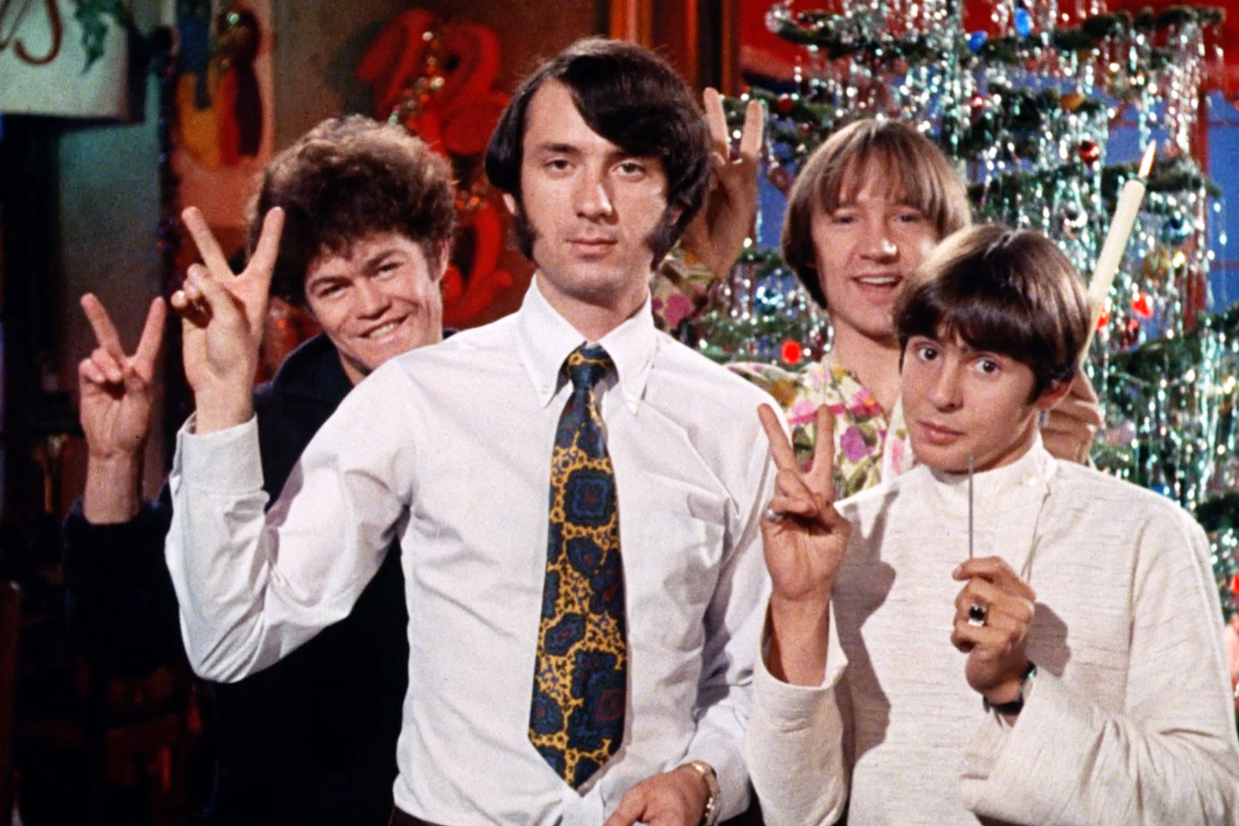 The Monkees Made a Christmas Album With Rivers Cuomo and R.E.M.'s Peter Buck