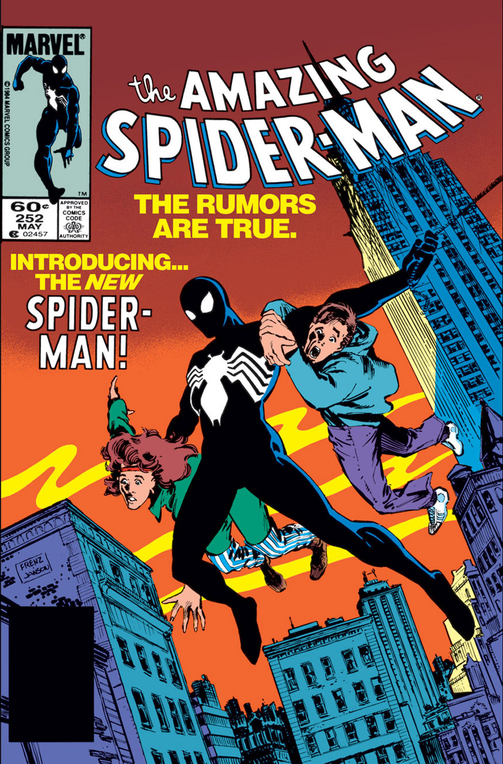 spiderman 252