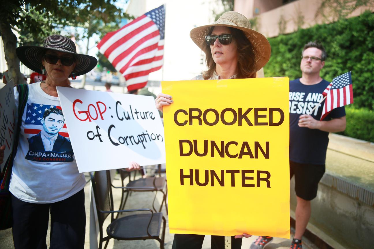 Ammar Campa-Najjar on California Congressman Duncan Hunter