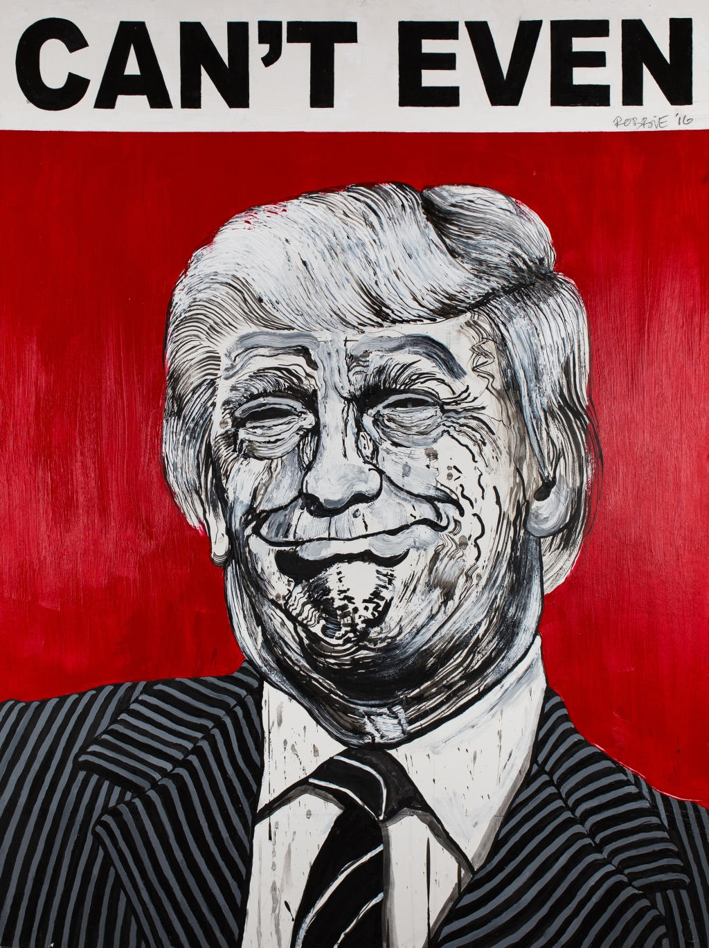 74-year-old illustrator and guerilla street artist Robbie Conal spent more than three decades satirizing conservative lawmakers before he moved from Los Angeles to Los Osos, an idyllic beach community on California's Central Coast, in 2014. Conal would've been perfectly happy if he never drew another politician again. And then Donald Trump became president.