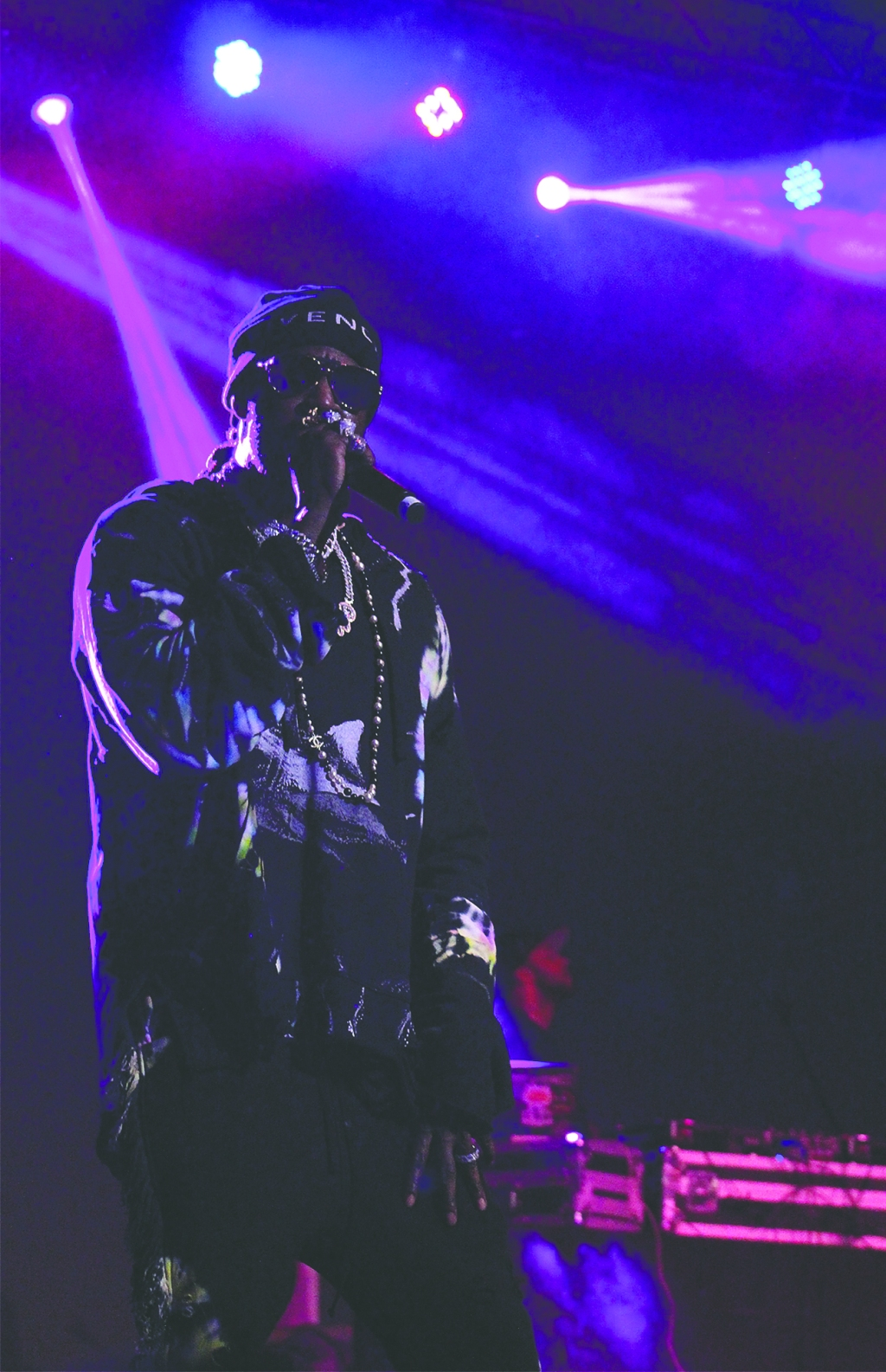2Chainz headlining Saturday night's blowout at the Griffin Music Hall.