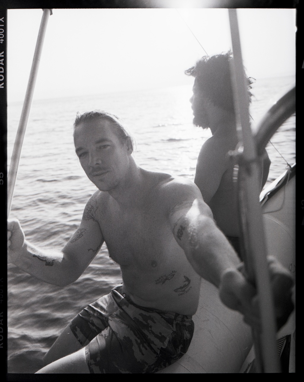 """""""We had shows almost every night, but we had one off day in Malawi (before traveling by sea, road and air back to Johannesburg) where we got to ride around the amazing Lake Malawi. We drank local gin and tonics and tracked hippos."""" — Diplo"""