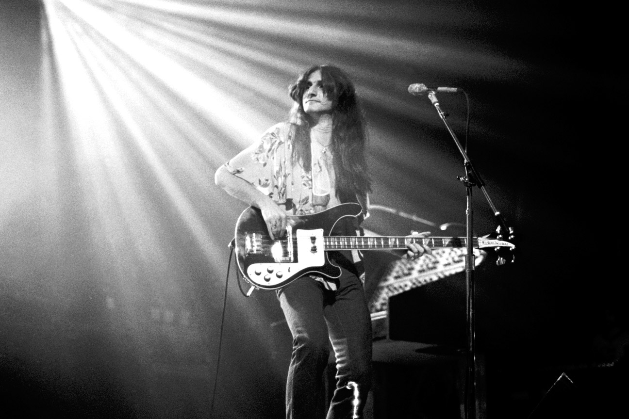 Geddy Lee Talks to Rolling Stone Magazine About Rush's Hemispheres