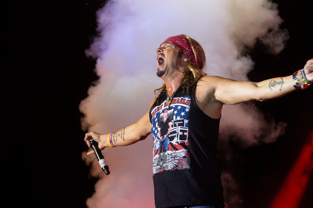 Poison frontman Bret Michaels unskinny bopped in the pouring rain Friday night onstage at the MAD Amphitheater during MusicFest31. From October 18-20, hair metal, hip-hop and hardcore funk collided in El Dorado, Arkansas – a little town in the middle of nowhere that's becoming a prime destination for the arts. Read: El Dorado's New Boom Since opening the Murphy Arts District in 2017, a sleepy local fair has become a music juggernaut (think Coachella in Mayberry). They call it 'MAD' because, well, how else would you describe a festival that pairs 2Chainz with Sammy Hagar and Gucci Mane with Toby Keith?  Rolling Stone's new feature tells the story of an oil magnate's hometown pride, culture deserts in the south and a noble mission to reverse a withering town's economic fate with live music, arts and entertainment.