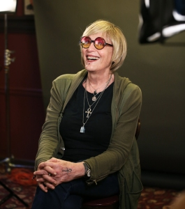 Kate Bornstein photographed on June 14 30, 2018 in New York City. Photo: Walter McBride/Getty Images