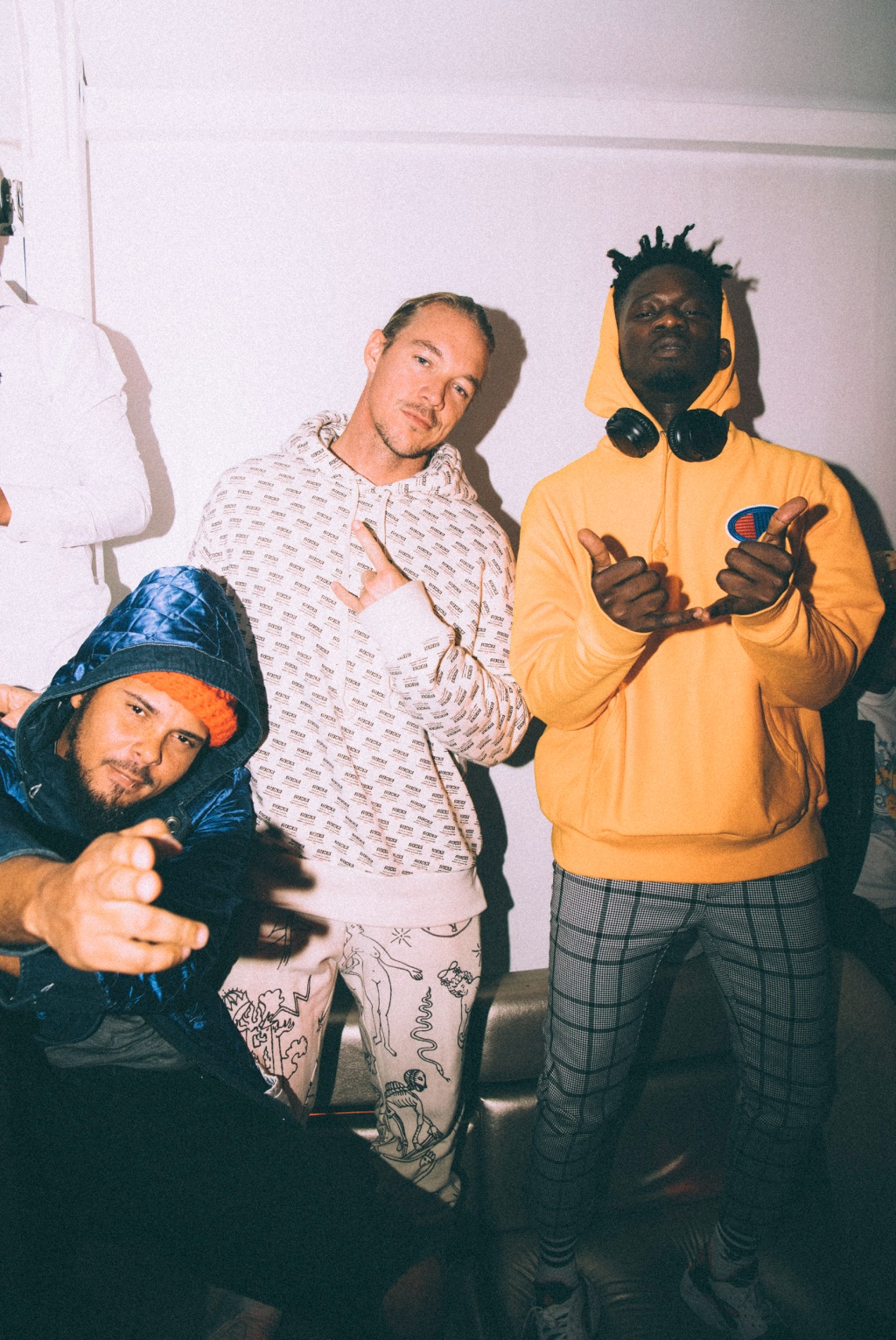 """""""Mr. Eazi was in Joburg for a random show and he took us out to a night club on our last night in South Africa. Joburg and Durban have the most exciting fashion and music scene at the moment. I'm very excited."""" — Diplo"""