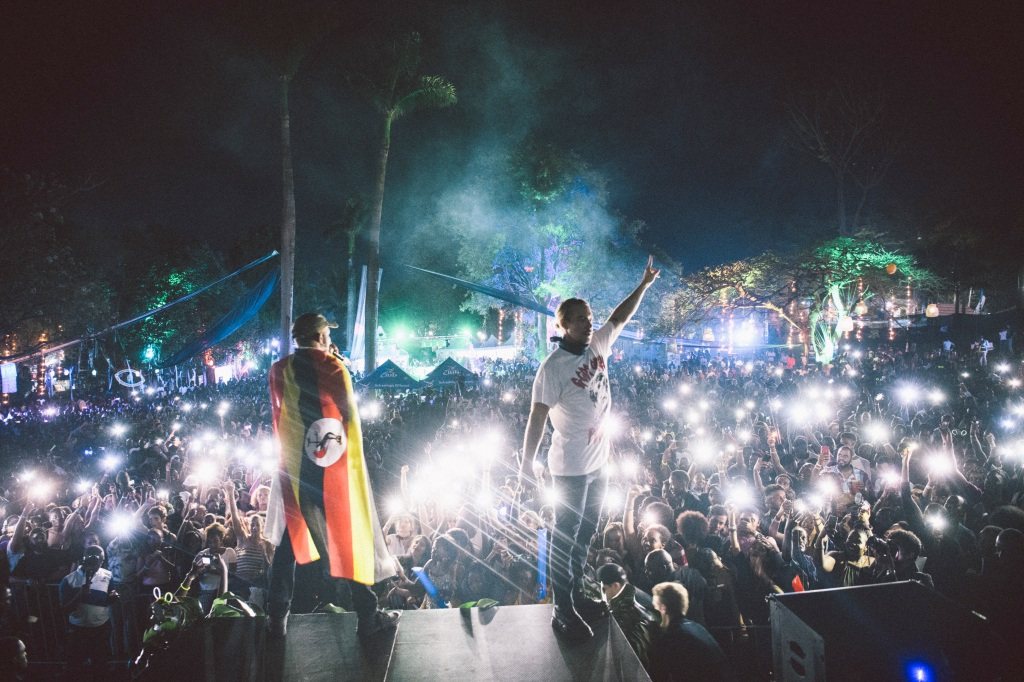 """""""Years ago, some kids on Twitter said, 'When are you gonna come to Uganda?'"""" recalls Diplo. """"And I said, 'Man, I don't know if I'll ever make it there.'"""" This fall, Major Lazer — the hitmaking EDM trio of Diplo, Jillionaire and Walshy Fire — played there for the second time, performing for a huge crowd in Kampala, the capital city, as part of a weeklong African tour. They marked the occasion with a special 30-minute Afrobeats mix on streaming services, full of hot new sounds from Nigeria, Ethiopia, South Africa and more. The mission, in Diplo's words: """"Importing American sounds to Africa, and -importing African sounds to the rest of the world."""""""