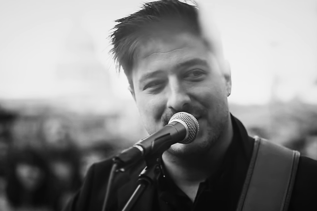 Mumford and Sons Bring New Song 'Guiding Light' to London Streets