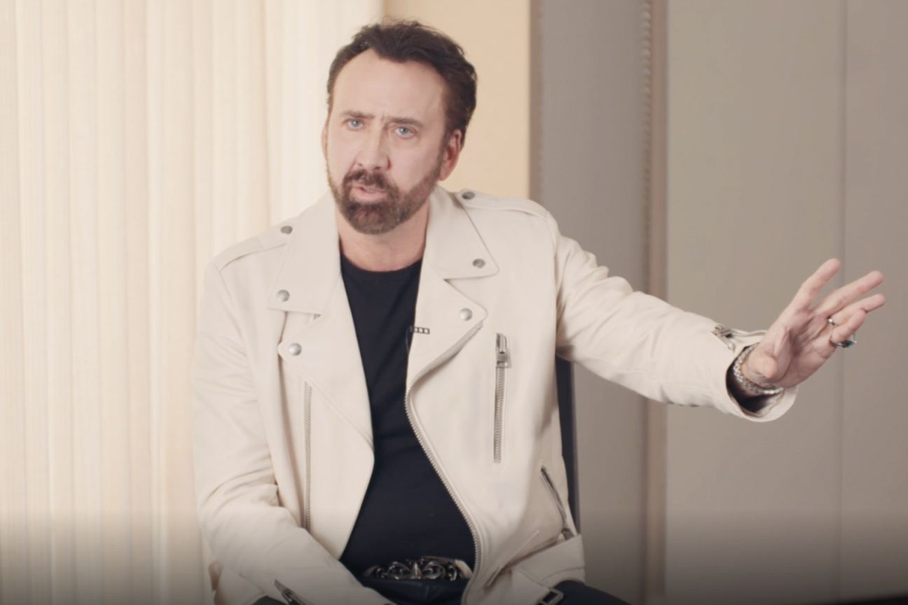 Nicolas Cage on Why His First Superhero Costume Did Not Go Well