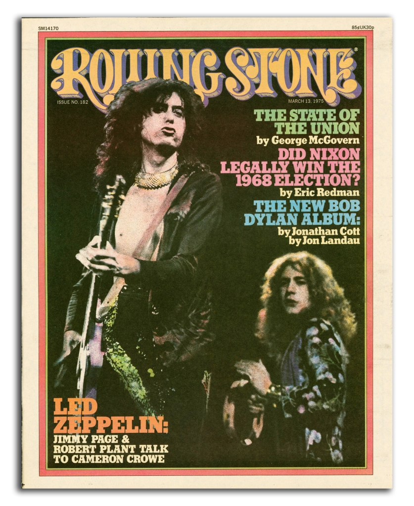 RS 182 led zeppelin cameron crowe